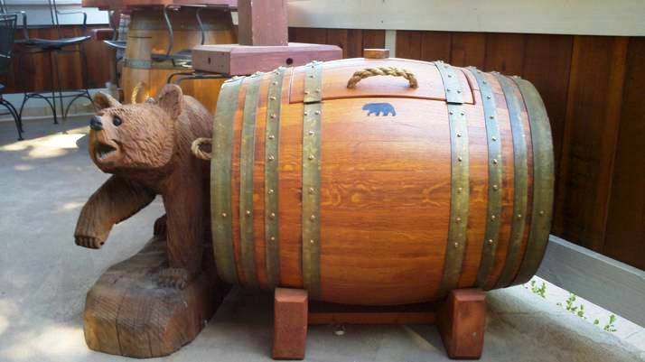 Why would a pest control company be involved in making of wine barrel  furniture?